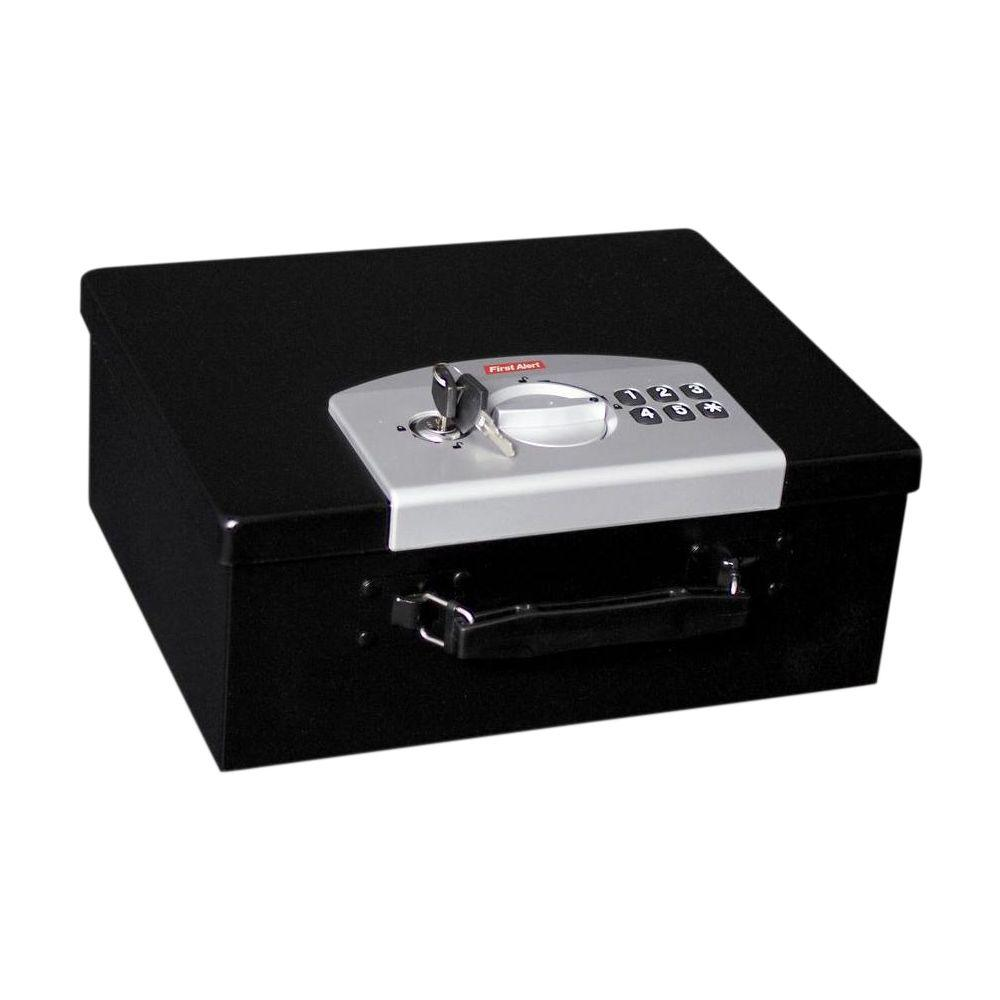0.27 cu. ft. Capacity and Electronic Digital Lock Steel Box
