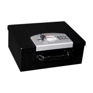 First Alert 0.27 cu. ft. Capacity and Electronic Digital Lock Steel Box by First Alert