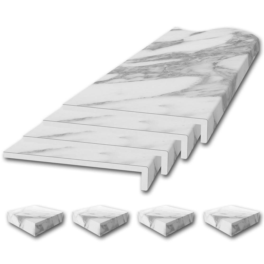 Window Sill Trim Kit in Calacatta White