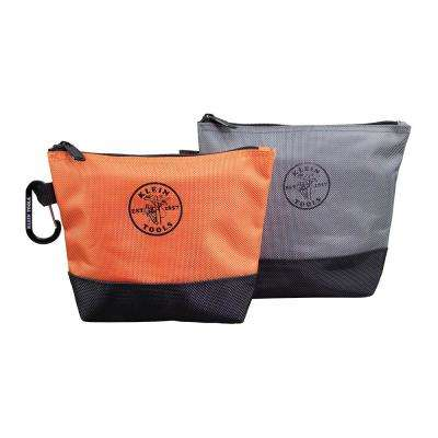 7.5 in. Stand-Up Zipper Tool Bag (2-Pack)