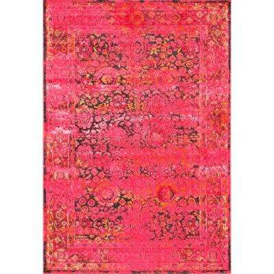 Pink 3 X 5 Area Rugs Rugs The Home Depot