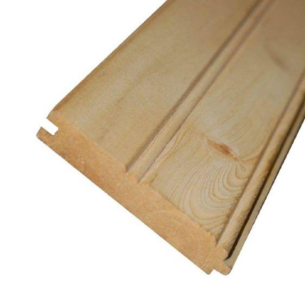 1 In X 4 In X 12 Ft Common Tongue And Groove Whitewood