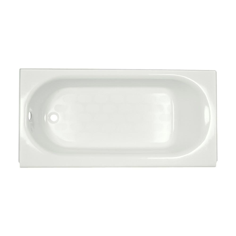 American Standard Princeton 5 ft. Left Drain Bathtub in Arctic