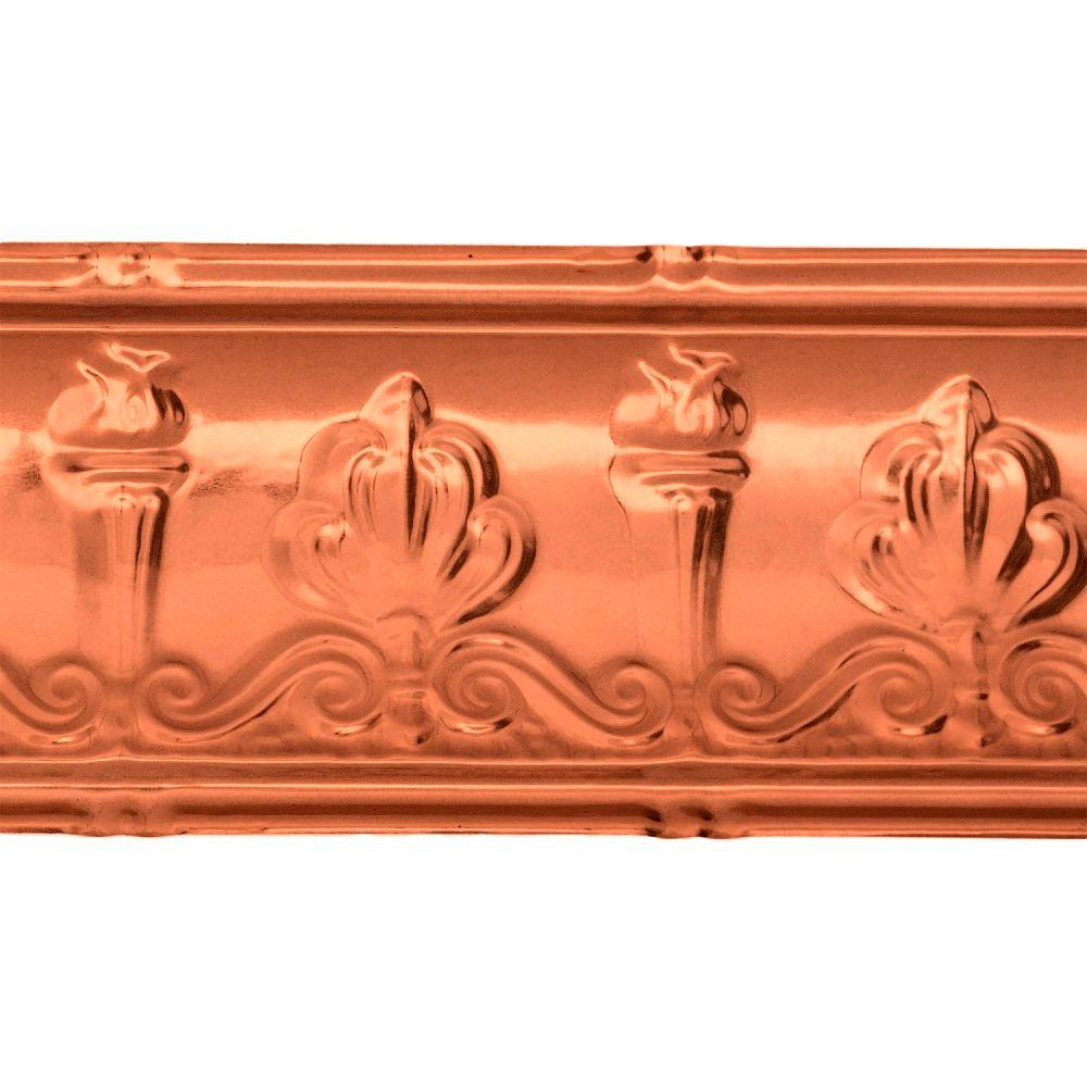 Great Lakes Tin 48 In Superior Tin Crown Molding In