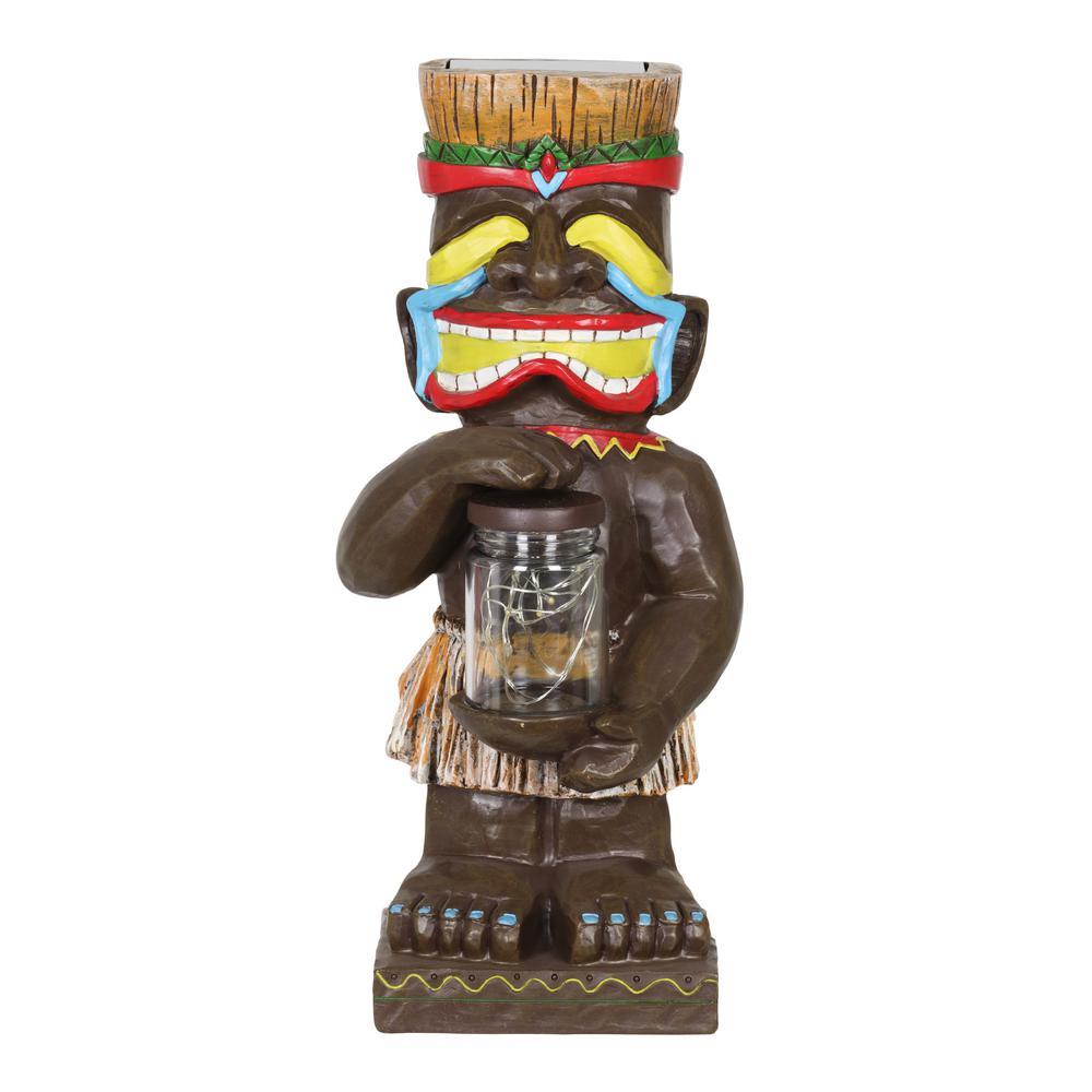 Solar Totem Garden Statue