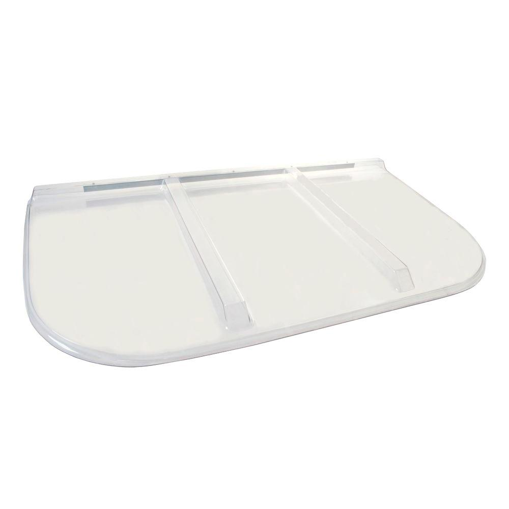 Shape Products 64 in. x 38 in. Polycarbonate U-Shape Egress Cover
