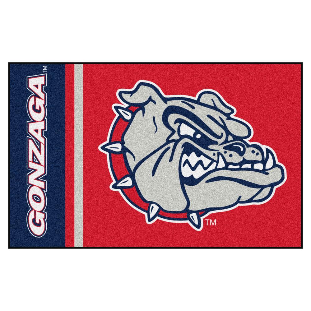 NCAA Gonzaga University 19 in. x 30 in. Uniform Style Starter Door Mat