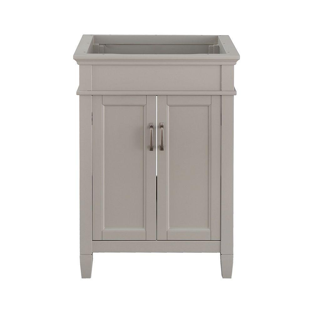 Ashburn 24 in. W x 21.63 in. D Vanity Cabinet in Grey