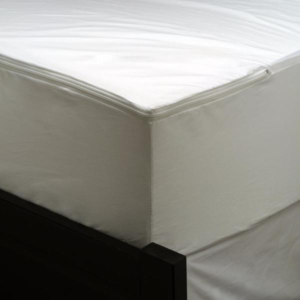 AllerEase Waterproof Allergy Protection Zippered Mattress Protector, Twin 2710AMT
