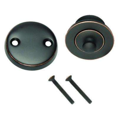 Lift and Turn Bath Drain in Oil Rubbed Bronze