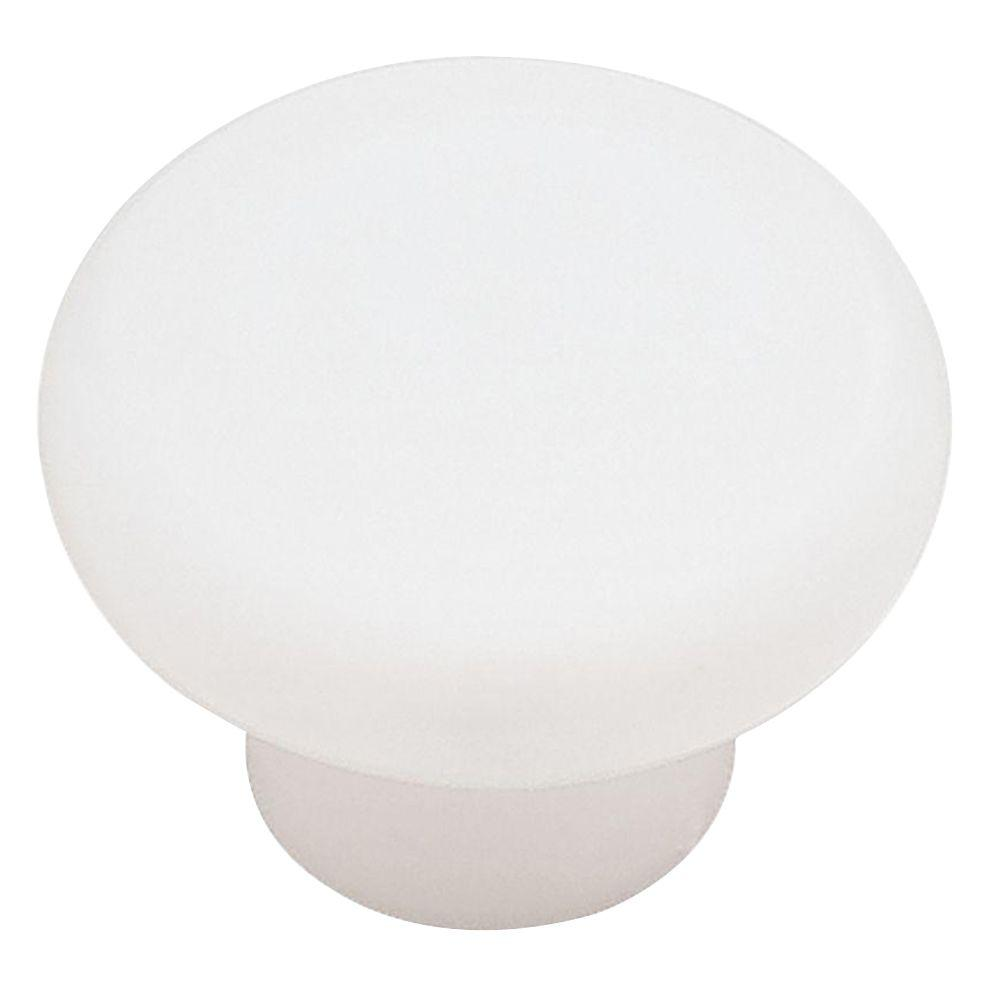 white cabinet door with knob. (35mm) White Plastic Round Cabinet Knob White Cabinet Door With Knob T