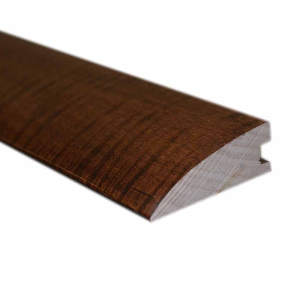 Oak Dark Gunstock 3/4 in. Thick x 2-1/4 in. Wide x 78 in. Length Hardwood Flush-Mount Reducer Molding