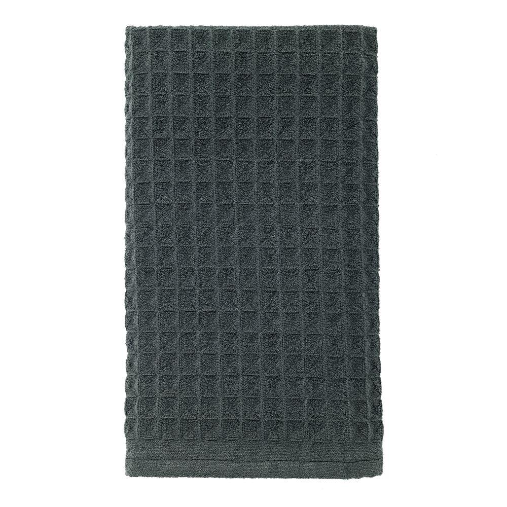 RITZ 16 in. x 26 in. Large Waffle Microfiber Kitchen Towel ...