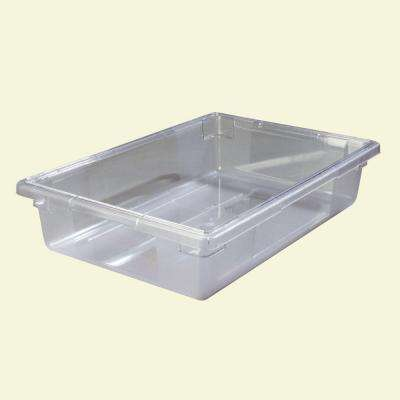 8.5 gal., 18x26x6 in. Polycarbonate Food Storage Box in Clear (Case of 6)