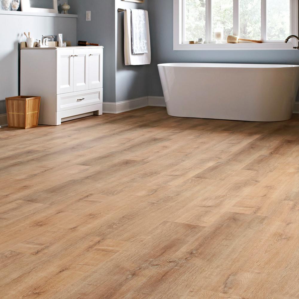 Lifeproof Fresh Oak 8 7 In W X 47 6, Is Lifeproof Vinyl Plank Flooring Waterproof