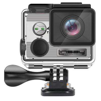 TRUE 4K Action Camera Sport Outdoor Ultra HD Video Photos Wi-Fi Kit Mounting Micro SD Card Slot up to 64GB