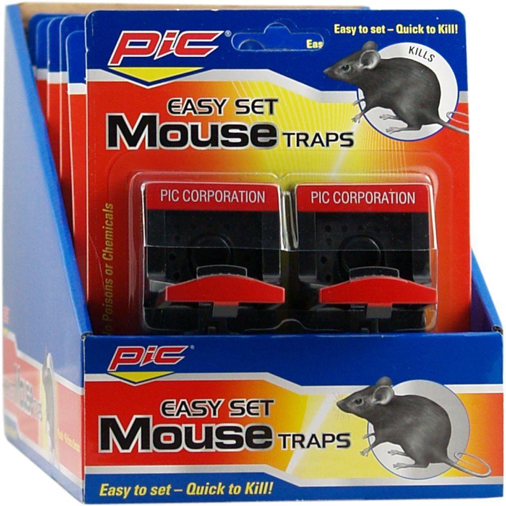 Simple Set Mouse Trap (12-Pack)