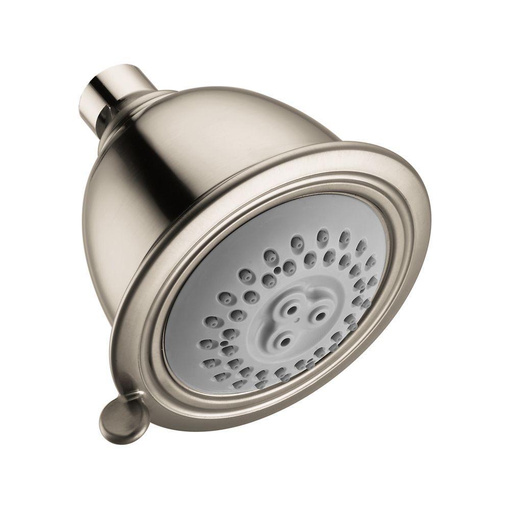 Croma C 75 2-Spray 3.5 in. Showerhead in Brushed Nickel