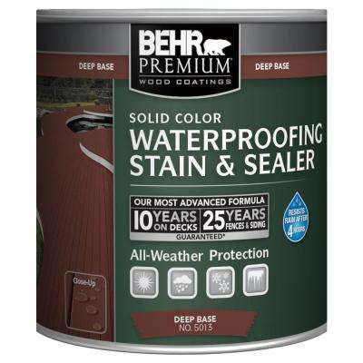 8 oz. Deep Base Solid Color Waterproofing Stain & Sealer Sample