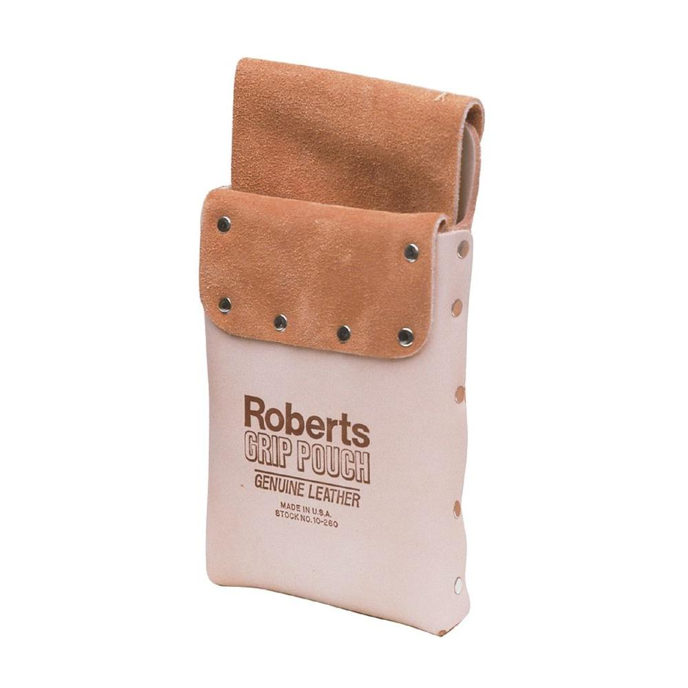 carpet knife pouch. roberts deluxe leather grip carpet knife and tool pouch f