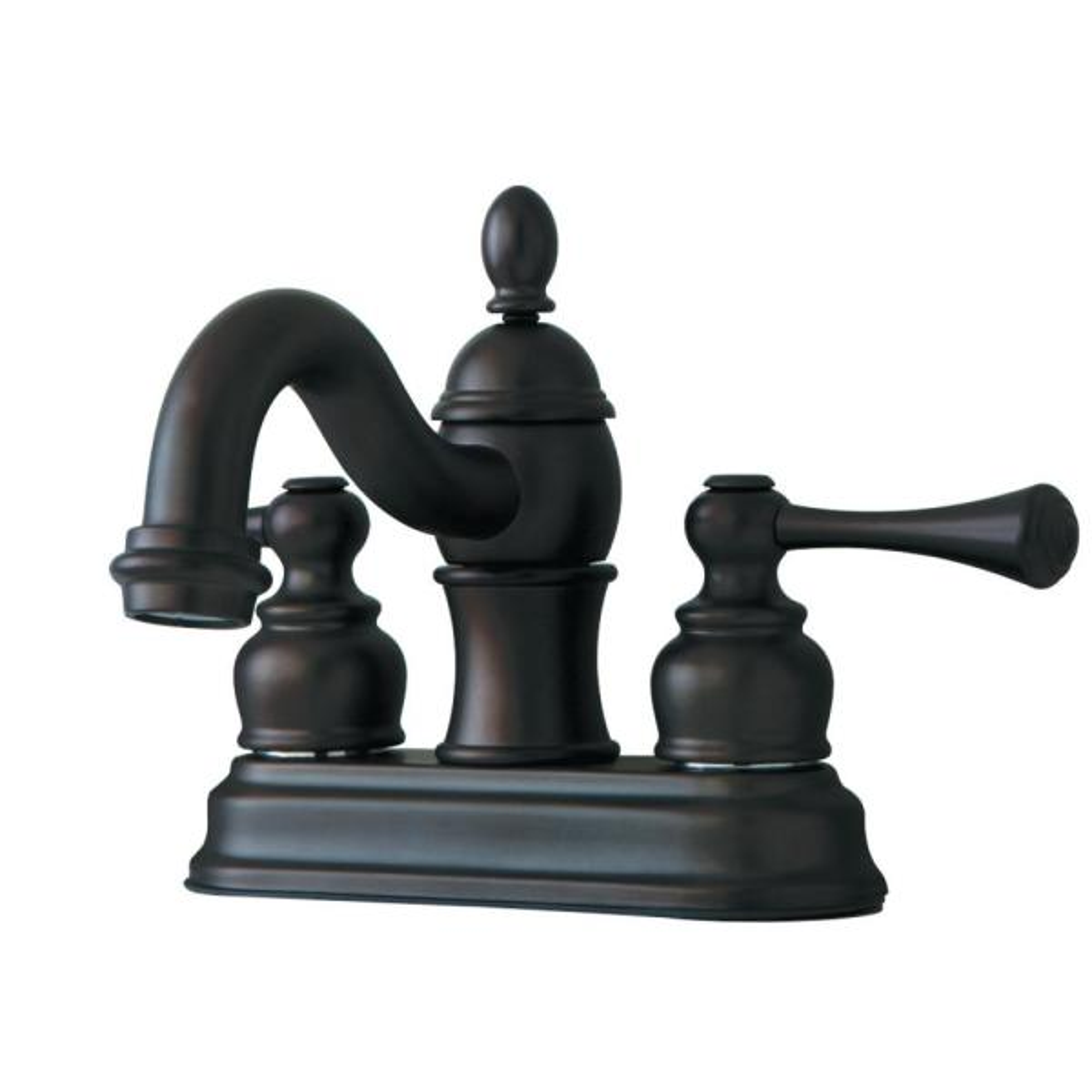Vintage 4 in. Centerset 2-Handle Bathroom Faucet in Oil Rubbed Bronze