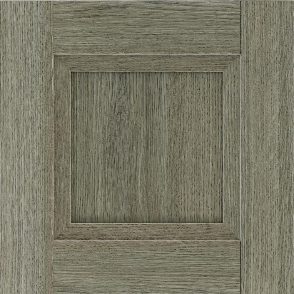 Gray Cabinet Samples Kitchen Cabinets The Home Depot - Grey wood kitchen doors