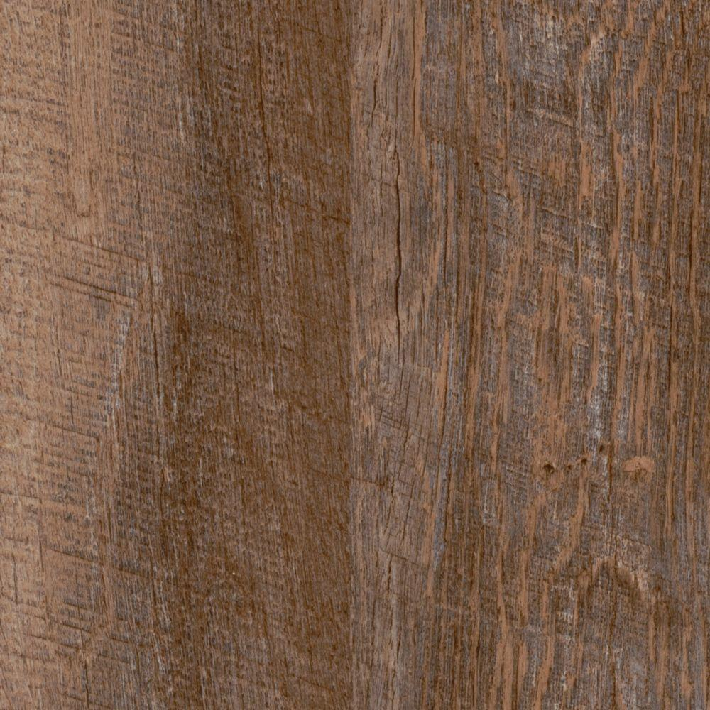 TrafficMASTER Allure Ultra Take Home Sample - 2-Strip Rustic Hickory Resilient Vinyl Flooring - 4 in. x 4 in.