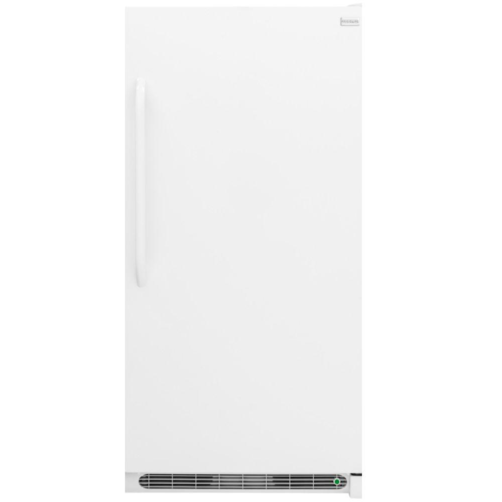 frigidaire 20 cu ft frost free upright freezer in white energy rh homedepot com Frigidaire Owner's Manual Frigidaire Refrigerator Only