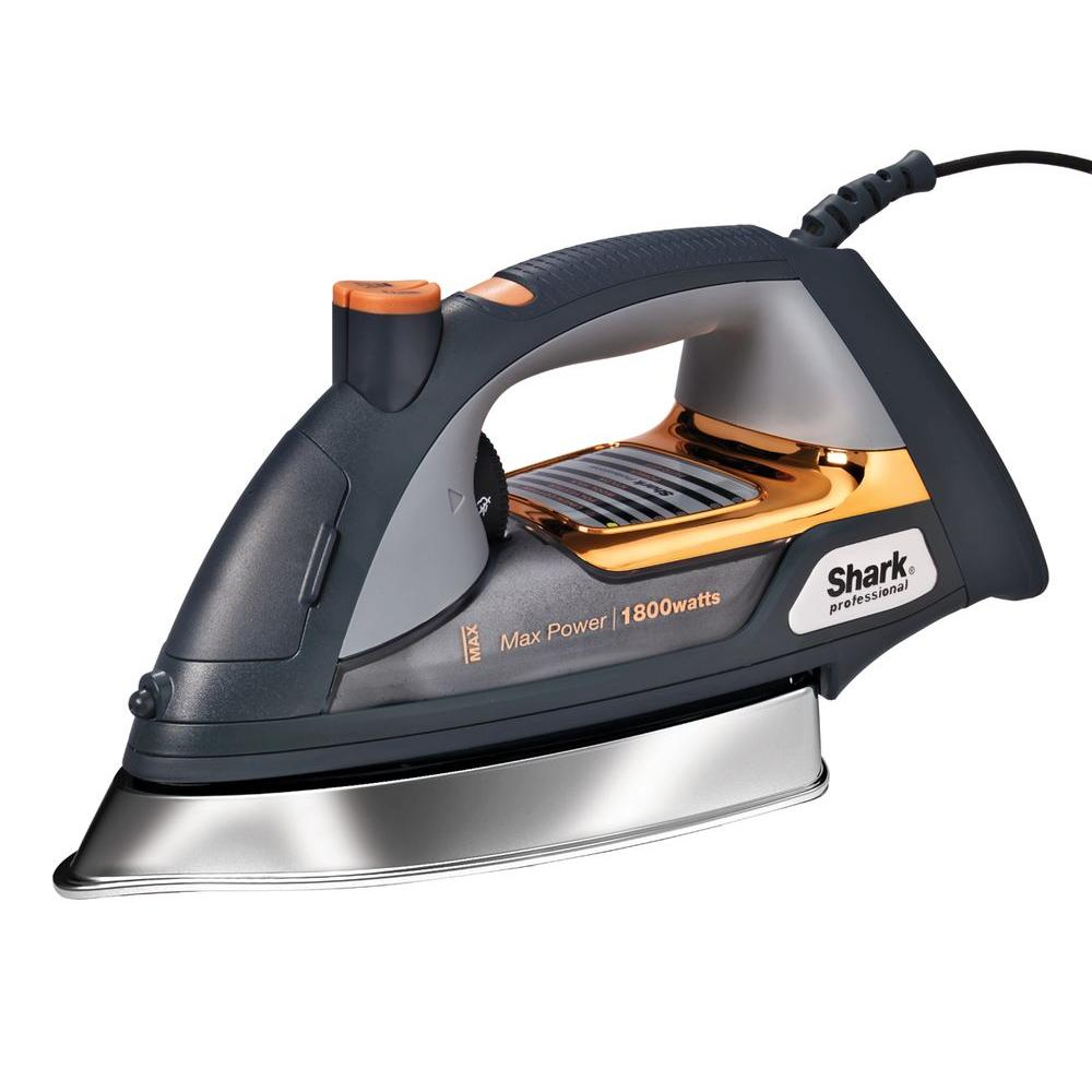 Shark Ultimate Professional Steam Iron, Brown