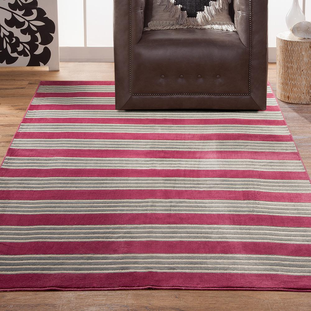 Sams International Sonoma Tomkin Raspberry 7 ft. 10 in. x 11 ft. 2 in. Area Rug