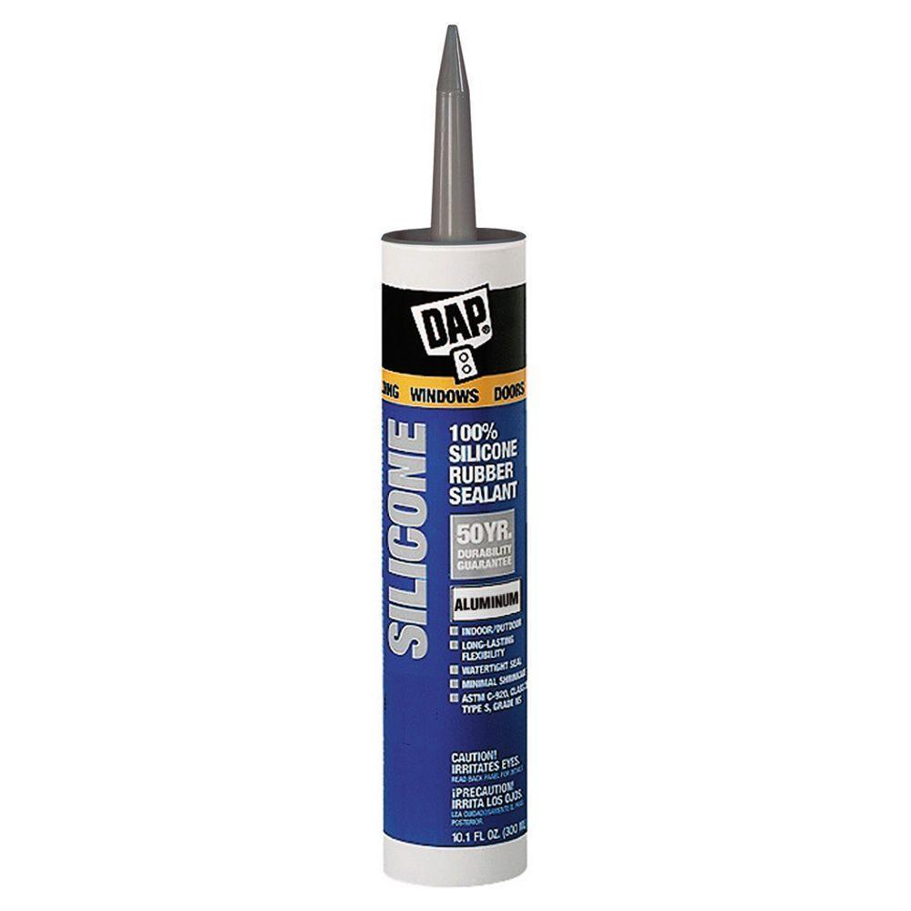 DAP 10 1 oz  100% Aluminum Silicone Sealant