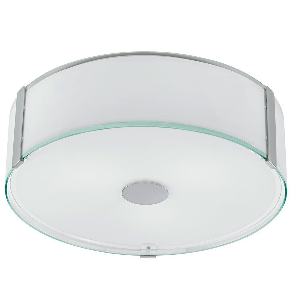 Varano 3-Light Chrome Ceiling Flushmount