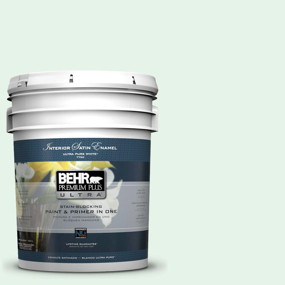 5-gal. #450A-1 Crystal Gem Satin Enamel Interior Paint