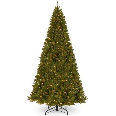 12 ft. North Valley Spruce Artificial Christmas Tree with Clear Lights