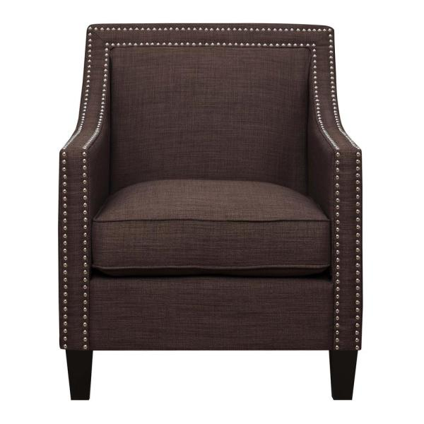 Emery Chocolate Arm Chair