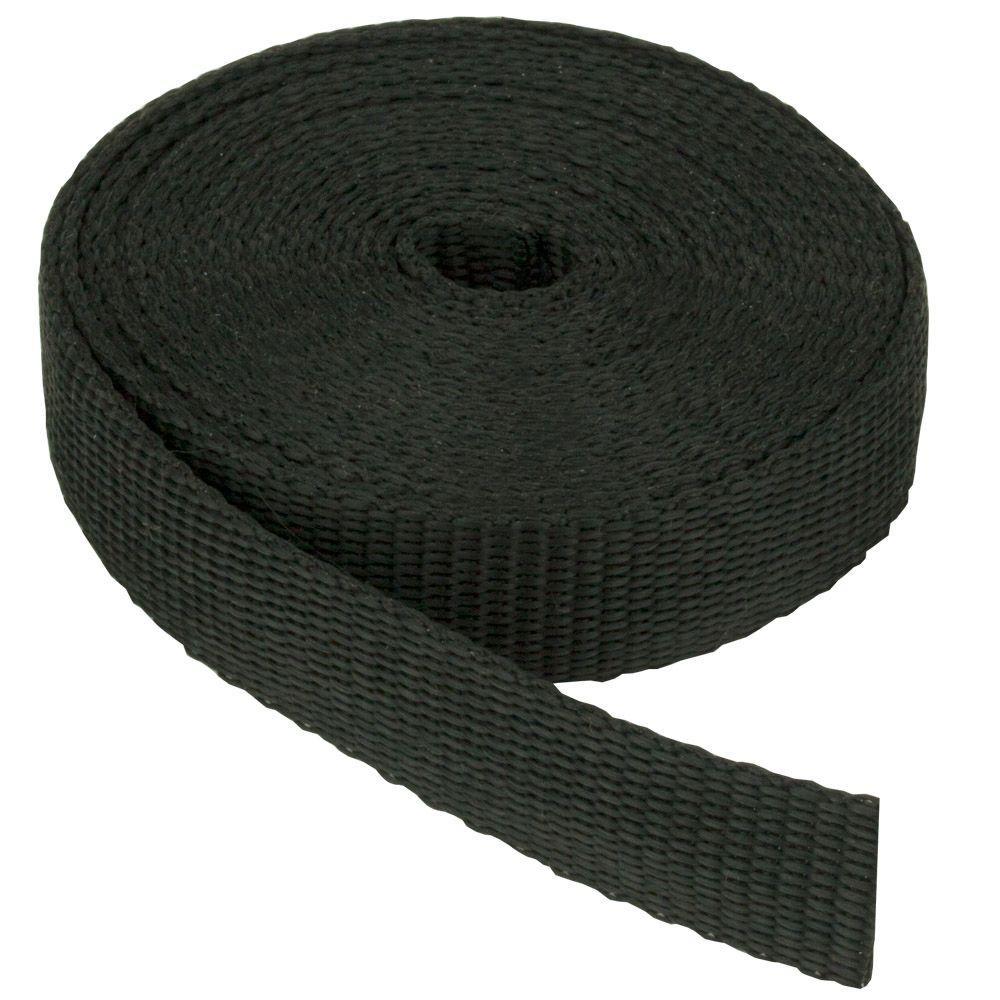 1-1/2 in. Webbing Strap, Black
