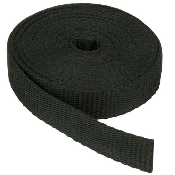 1-1/2 in. Webbing Strap, Black