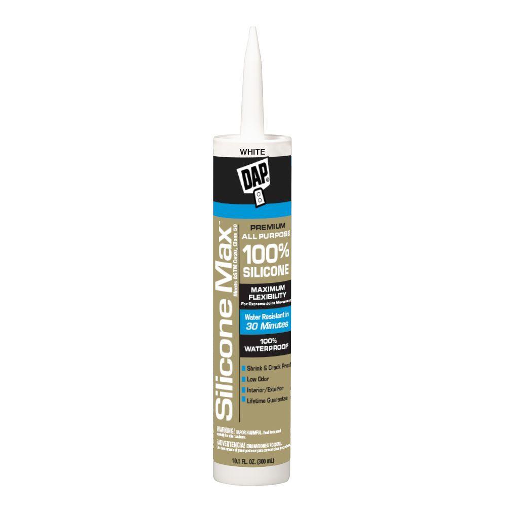 White 100 Premium All Purpose Silicone Sealant