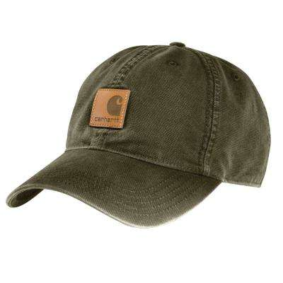 Men's OFA Army Green Cotton Cap Headwear