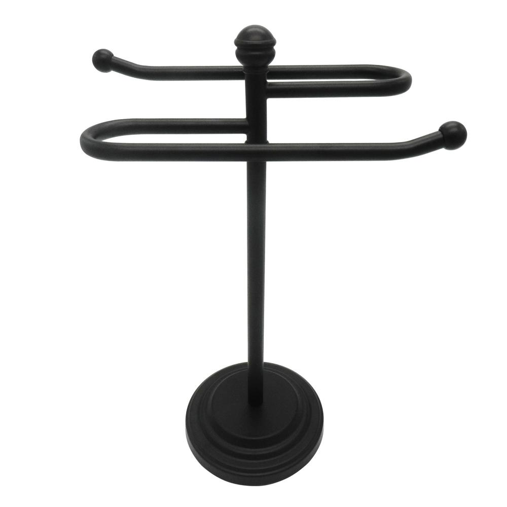 Awe Inspiring Broadway Bath Counter Top Towel Holder In Oil Rubbed Bronze Home Interior And Landscaping Ologienasavecom