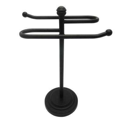 Counter Top Towel  Holder in Oil Rubbed Bronze