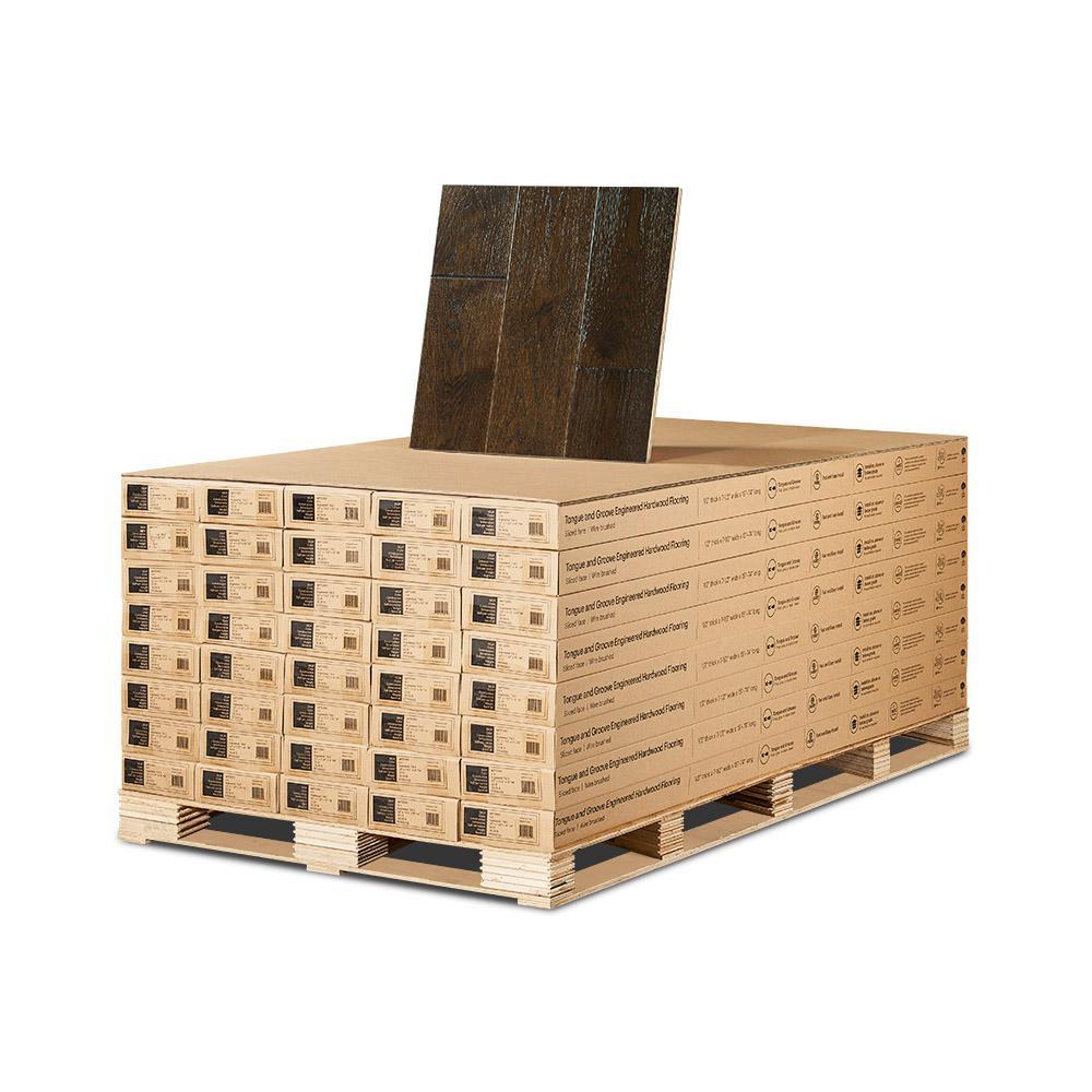 Hickory. Engineered Hardwood   Wood Flooring   The Home Depot