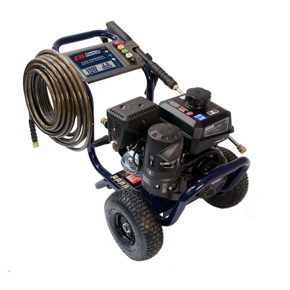 Ford 2700 Psi 23 Gpm Gas Pressure Washer California Compliant Motorcraft 7 3 Fuel Filter 3400 25 Max Commercial Kohler