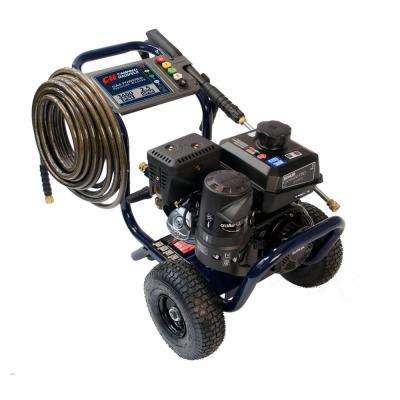 Pressure Washer, 3400 PSI, 2.5 Max GPM, Commercial Gas Kohler