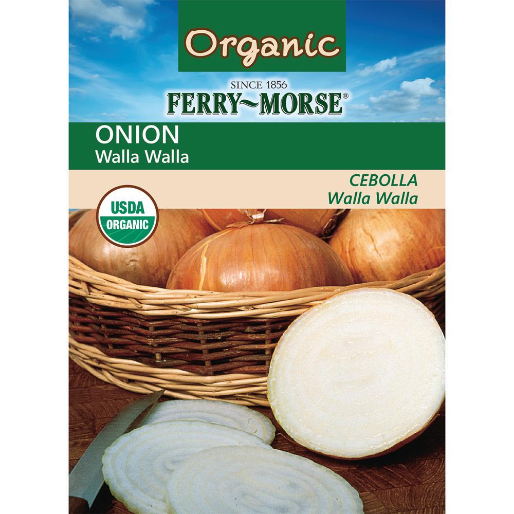 Ferry-Morse Onion Walla Walla Organic Seed