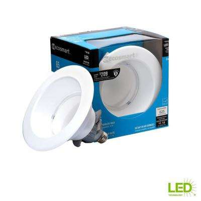 65W Equivalent Daylight (5000K) BR30 6 in. Dimmable LED Downlight