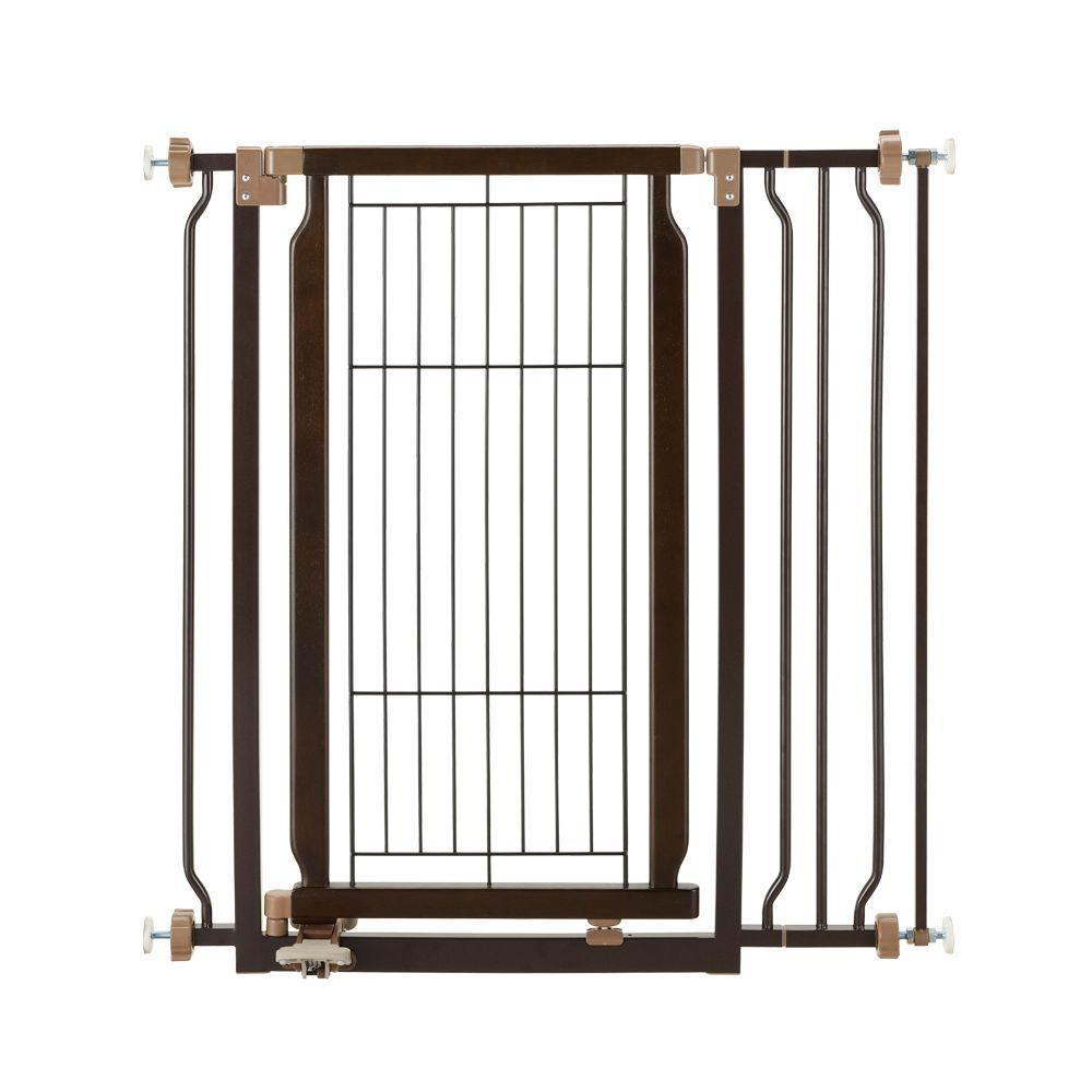 Richell Wood Hands-Free Pet Gate
