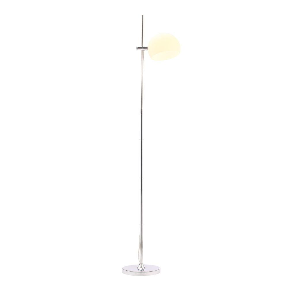ZUO Astro 65.4 in. Chrome Floor Lamp-50012 - The Home Depot