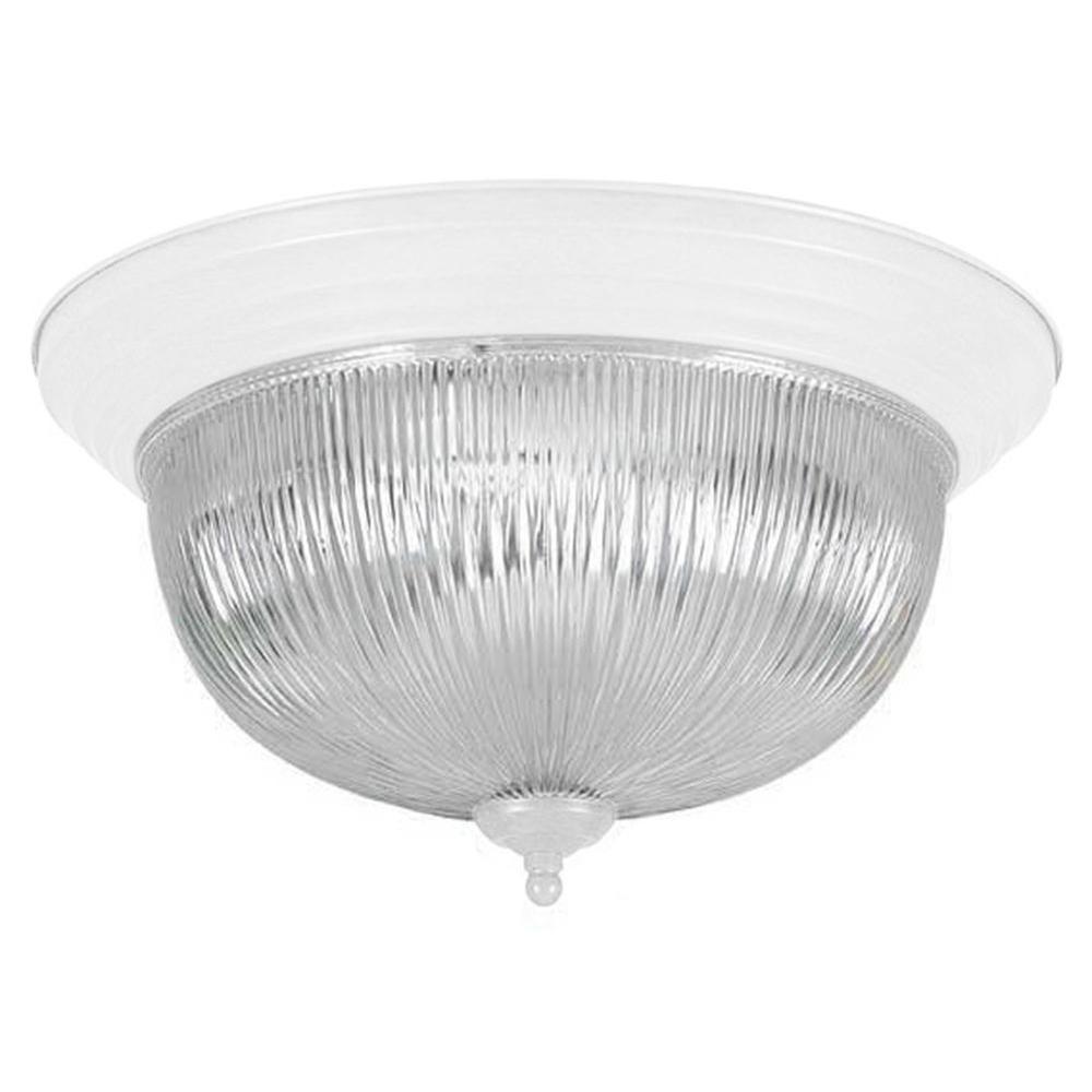 Dandridge 3-Light White Flush Mount