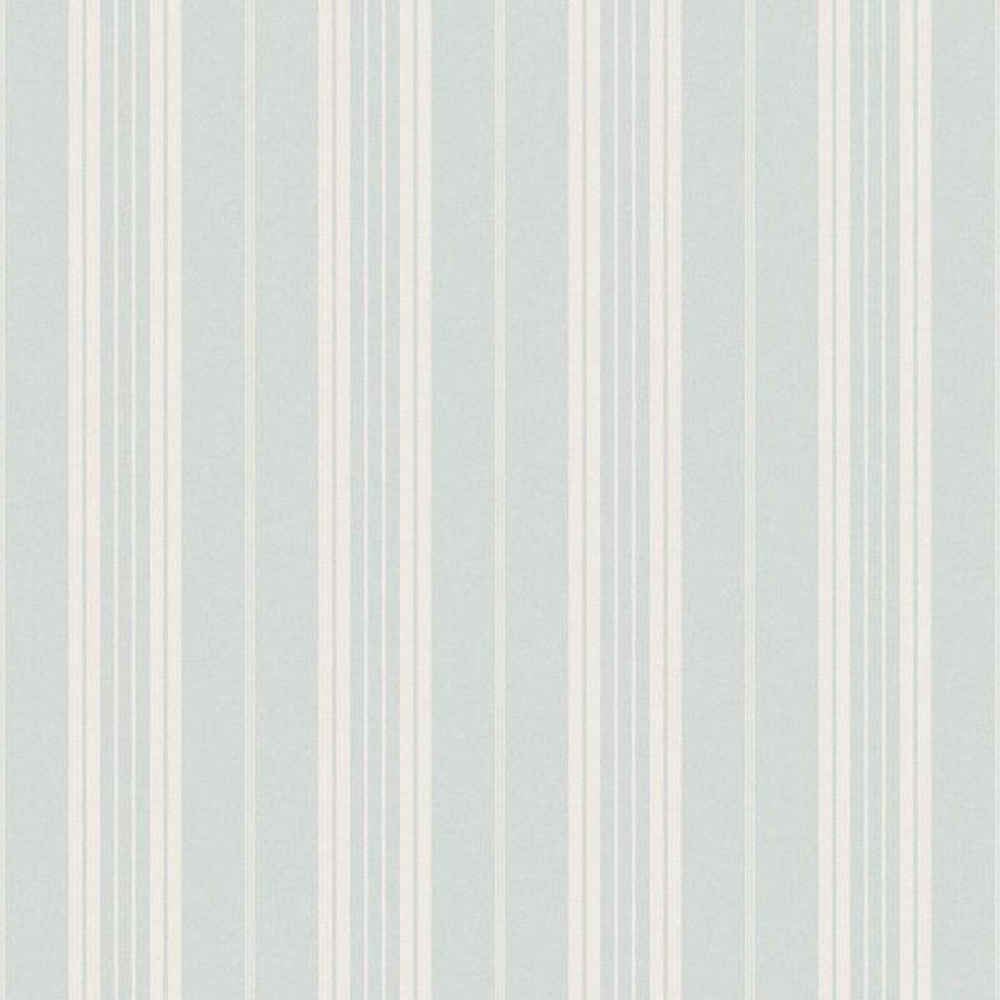 Chesapeake Farmhouse Light Blue Stripe Wallpaper CCB66315